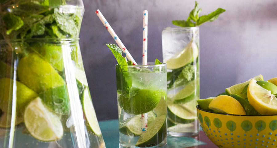 Enjoy Mojitos and Rum